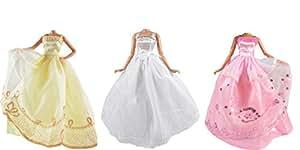 ADM 1003 - Wedding dresses: Dream (3 Dress Set, Dolls not included, suitable for fashion dolls like Barbie & Steffi Love)