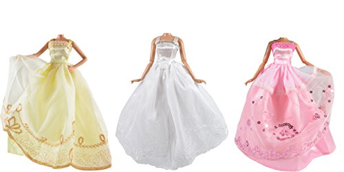 adm-1003-wedding-dresses-dream-3-dress-set-dolls-not-included-suitable-for-fashion-dolls-like-barbie