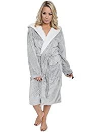 Amazon.co.uk: Grey - Dressing Gowns / Nightwear: Clothing