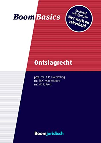 Ontslagrecht (Boom Basics) (Dutch Edition)