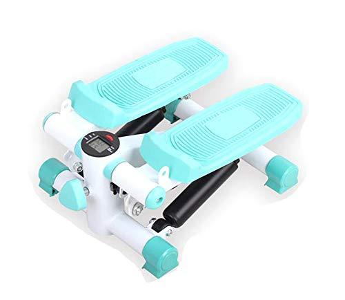 HHH Mini Stepper Aerobic Exercise Kalorienverbrennung Einstellbares hydraulisches Stepper Trainingsgerät mit Wiederherstellungsübung für Widerstandsbänder