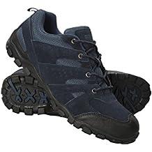 Mountain Warehouse Zapatillas Outdoor para Hombre - Ante, Zapatillas de Montaña Transpirables, Resistentes, Zapatillas de Verano Ligeras, Suela de Goma - para excursiones