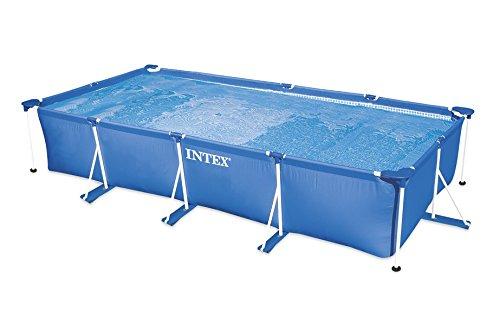 Intex Aufstellpool Frame Pool Set Family, blau, 450 x 220 x 84 cm