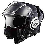 LS2 LS2 - Casque moto - LS2 VALIANT Noir - M, Noir, Taille M...