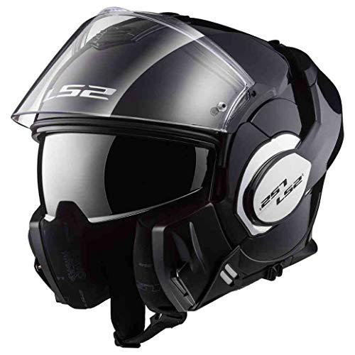 LS2 LS2 - Casque moto - LS2 VALIANT Noir - L, Noir, Taille L