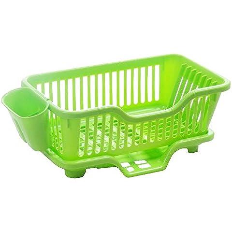 CLG-FLY inox ciotola doppia cremagliera Siu Lek Yuen acqua cucina rack rack in un cestello di lavastoviglie scolapiatti piatto, il ripiano #39 con alta qualità