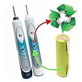 Akkutausch battery exchange Oral-B Sonic Complete 4717 DLX S18.535.3 1600mAh!! inkl. Reinigung und Versiegelung der Dichtungen