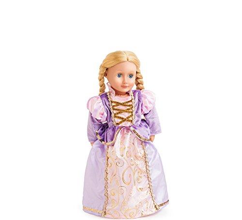 Kostüm Toddler Rapunzel - Little Abenteuer Little adventures41340Classic Rapunzel Doll Kleid