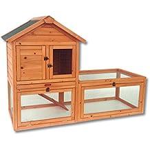 Gallinero gallina casa corral–Pet Hutch Bunny casa con grandes Run
