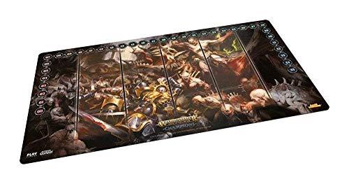 Warhammer Age of Sigmar: Champions Play-Mat Order vs. Death 64 x 35 cm Ultimate
