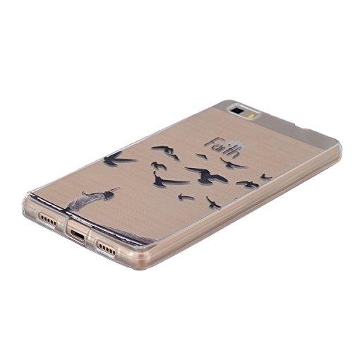 Voguecase® Per Apple iPhone 6/6s 4.7, Custodia Silicone Morbido Flessibile TPU Custodia Case Cover Protettivo Skin Caso (Macaron ragazza) Con Stilo Penna Faith