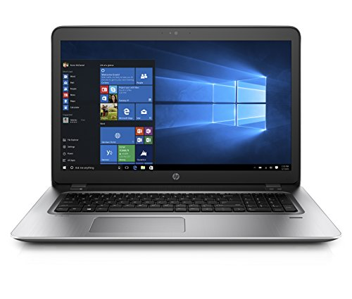 "HP ProBook 470 G4 Notebook, Display 17.3"", Intel Core i7-7500U, 8 GB di SDRAM DDR4, Grafica nVidia GeForce 930MX, Argento"
