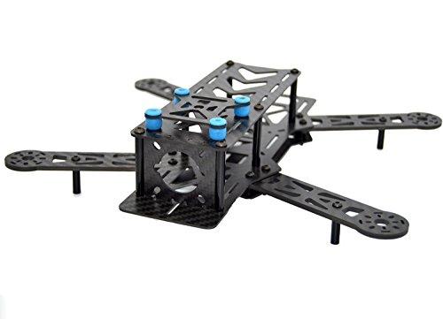 LHI H280 FPV Rennen Quadcopter Rahmen der volle Carbon-Faser wie QAV250 etc (Pan-tilt-servos)