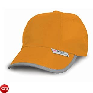 Result - Cappellino Sportivo (Taglia unica) (Arancio fluorescente)