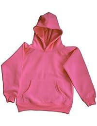 Sudadera con capucha para niña de acuarelas con mangas raglán-camiseta con capucha ...