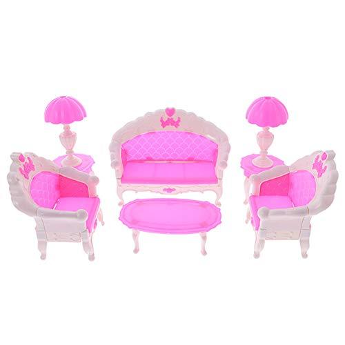 Preisvergleich Produktbild SSXY Mini - Möbel Hat Süß Doll Möbel Setzen with Sofa Set Schlafzimmer Spielhaus