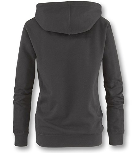 I have nothing to wear Damen Hoodie Kapuzenpullover Schwarz / Weiß