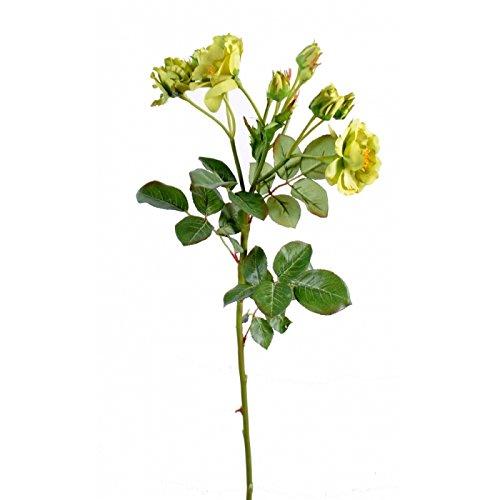 fleur coupee synthetique rose sauvage (promo net) - h : 52