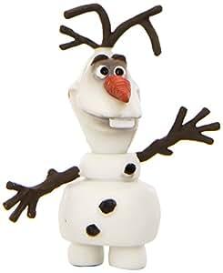 Bullyland 12963 - Spielfigur - Walt Disney Die Eiskönigin, völlig unverfroren - Olaf, ca. 4,5 cm