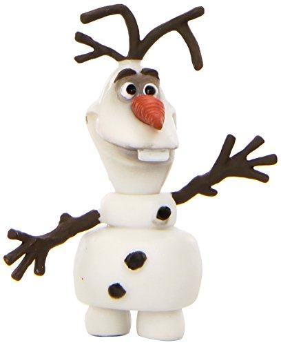 Bullyland 12963 - Spielfigur, Walt Disney Die Eiskönigin - Olaf, ca. 4,5 cm groß, liebevoll handbemalte Figur, PVC-frei, tolles Geschenk für Jungen und Mädchen zum fantasievollen Spielen