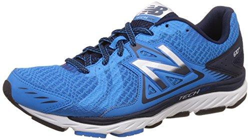 New Balance Men's 670V5 Fitness Shoes, (Blue/Black), 10.5 UK 45 EU