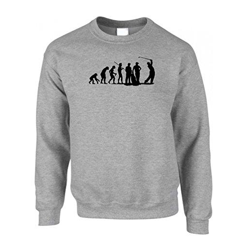 evolution-of-golf-club-course-iron-wood-sweatshirt-jumper-grey