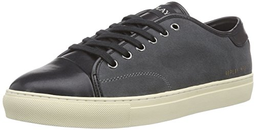Replay Ritva, Low-Top Sneaker uomo, Grigio (Grau (CH GREY 14)), 44