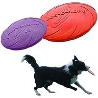 Dog Flying Disc, Legendog Pack 2 Juguete Del Disco Volador Juguete Flotante Del Perro Del Colector Del Perro Para La Masticación