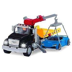 Driven by Tow Truck Conducido por Battat-Camión de Remolque, Color (Branford Ltd. WH1020Z)