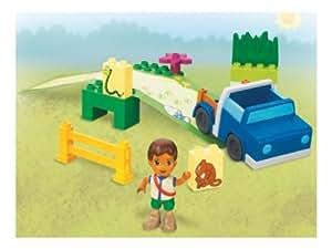 Lego Dora l'Exploratrice - Camion de secours de Diego (Duplo 7331)