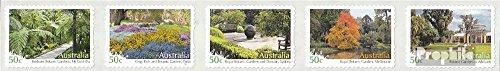 Prophila Collection Australien 2880-2884 Fünferstreifen (kompl.Ausg.) 2007 Gärten (Briefmarken für Sammler) -