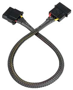 Akasa AK-CBPW02-30 Câble d'extension alimentation Molex 4 broches