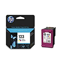 HP 123 Tri-color (Cyan, Magenta, Yellow) Original Ink Advantage Cartridge - F6V16AE