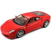 Bburago 18-26008, Coche, 1/24, Ferrari Race & Play F430, multicolores