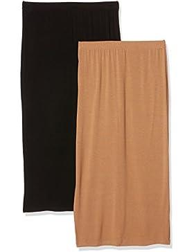 Boohoo Falda para Mujer (Pack de 2)