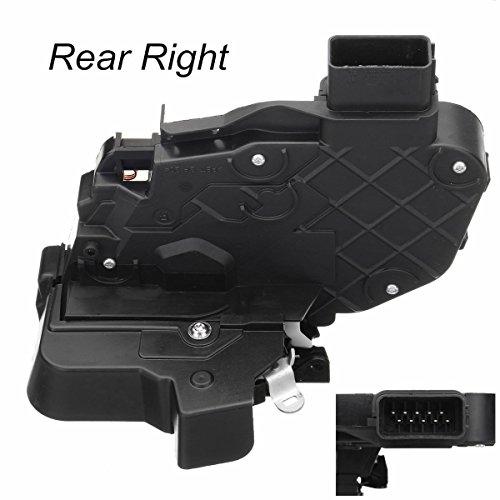 ETbotu Hinten Rechts Power Tür-Zusatzschloss Motoren Einrastmechanismus für Fahrzeug Auto Jaguar XF Land Rover (Typ Power Door Lock)