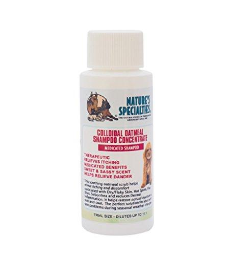 Nature 's Spezialitäten Kolloidales Hafermehl Pet Shampoo, Trial Größe