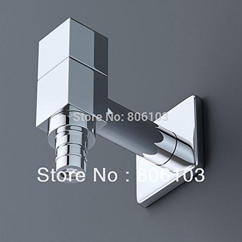 Tougmoo de salle de bain Produit accessoire de salle de bain Laiton carré Ouverture rapide robinet de machine à laver
