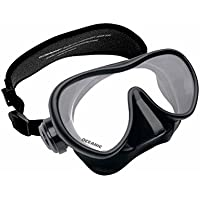 OceanPro Mini Shadow Mask, Black/Black with Neo Strap