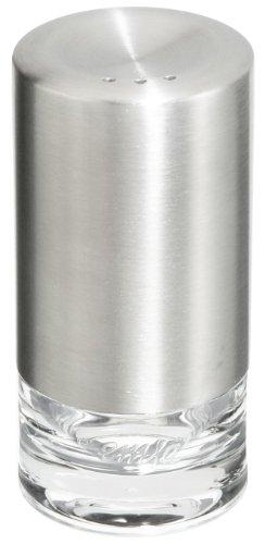 Emsa 504673 Salz- und Pfeffer-Streuer, 8 cm, Edelstahl, Silber, Accenta