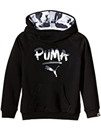 PUMA Sweat-shirt à capuche TD pour fille-Fun-t-shirts Sweat-shirt à capuche
