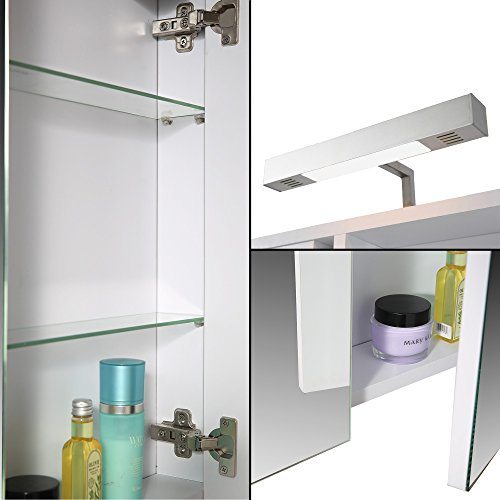 ▷ Spiegelschrank extra flach Platz im extra flachen Spiegelschrank