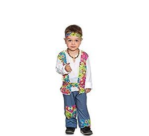 Fyasa Fyasa706384-T00 Disfraz de niño hippie. Talla pequeña