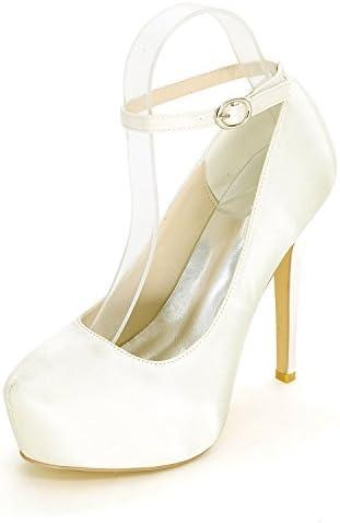 Qingchunhuangtang@ Singles femeninos Zapatos impermeables/plataforma/high-end bodas/zapatos de tacón alto de satén...