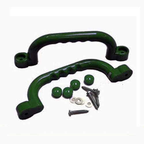 Haltegriffe für Spielanlagen dunkelgrün, paarweise