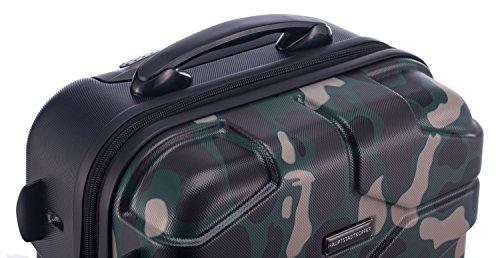 HAUPTSTADTKOFFER - X-Kölln - Hartschalen-Koffer Koffer Trolley Rollkoffer Reisekoffer, TSA, 76 cm, 120 Liter, Camouflage matt - 3
