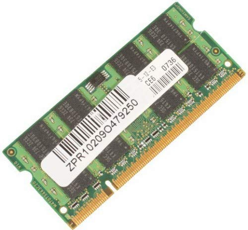 MICROMEMORY 1GB DDR2PC420064MX8SODIMM Arbeitsspeicher (1GB, DDR2, 1333MHz) -