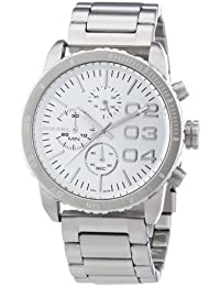 Diesel damen armbanduhr franchise chronograph quarz edelstahl dz5337