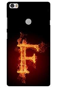 iessential initials Designer Printed Back Case Cover for Xiaomi Mi Max