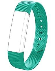 endubro Ersatzarmband für Fitness Tracker W33/ID115 | 11TT YG3 | Pushman YG3 | Smarter YG3 | YuanGuo YG3 | Hembeer V1 & V2 | ID115 & ID115HR | Lintelek Fitness Tracker ID115 | LUFA | Molorical UP1 & UP2 | Three-T | Letsfit | Letscom | Antimi Fitness Armband